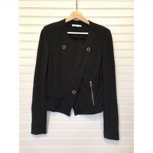 CAbi Ponte Moto Jacket asymmetrical blazer black S